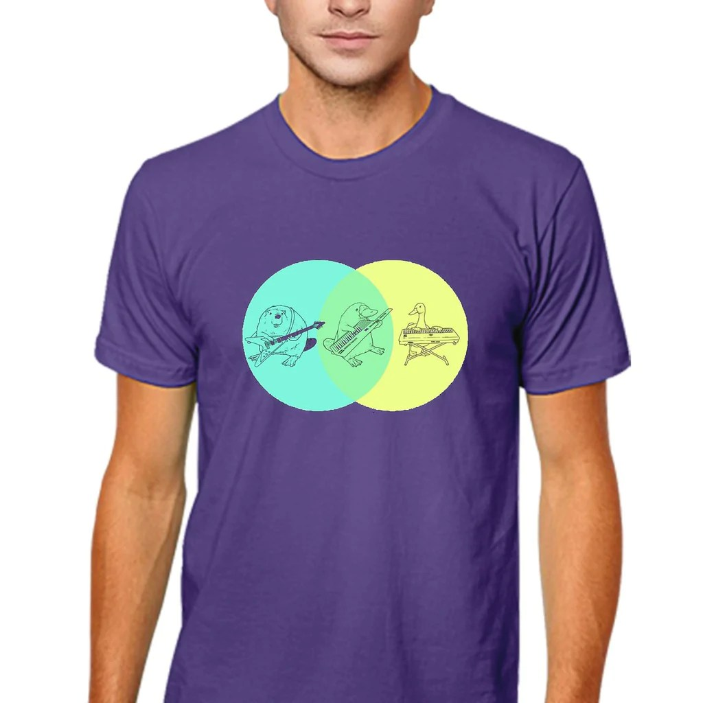 platypus venn diagram bass pickup wiring diagrams keytar men s t shirt vicstore online