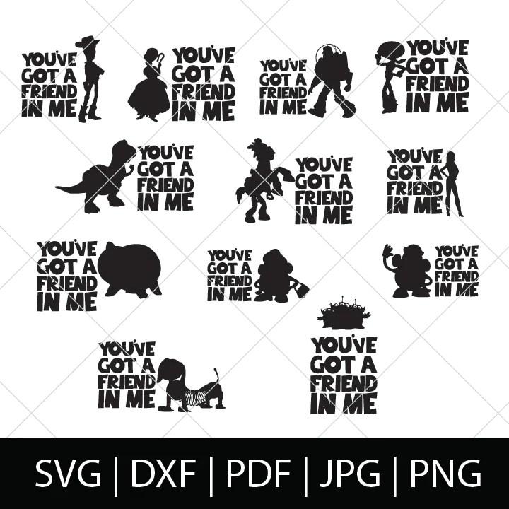 Download YOU'VE GOT A FRIEND IN ME (V2) - TOY STORY SVG BUNDLE ...