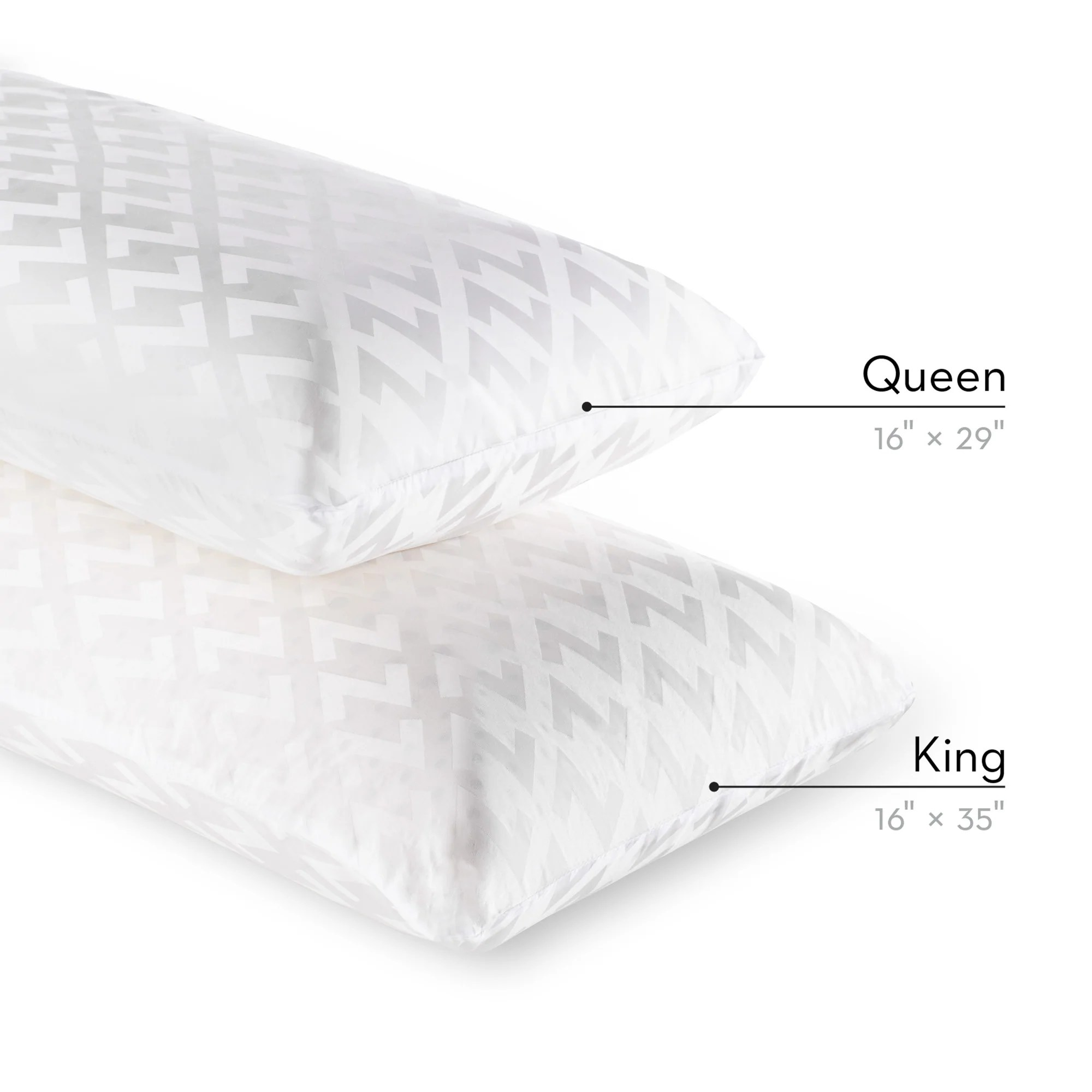 z dough memory foam pillow