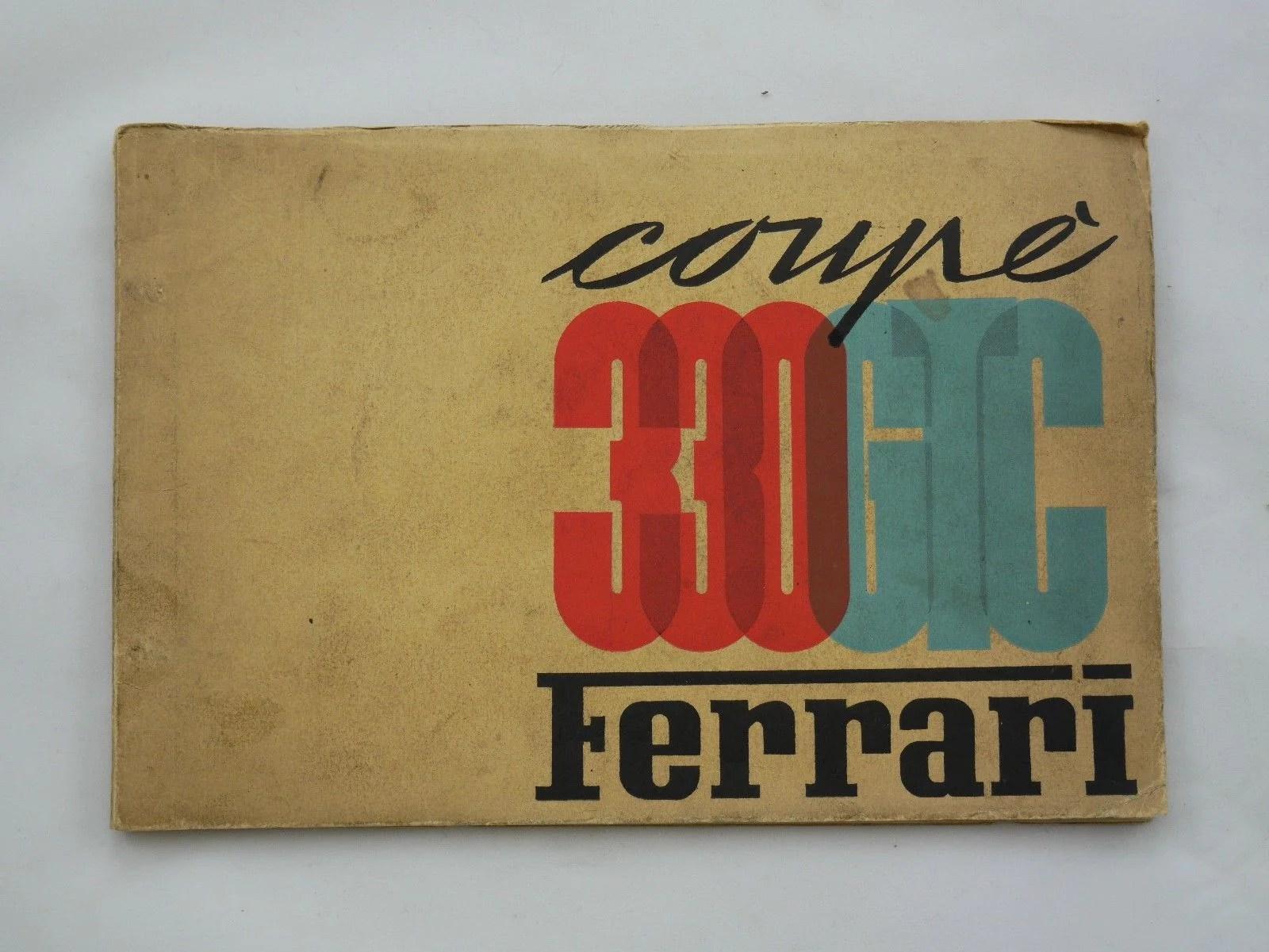 medium resolution of 1967 ferrari 330 gtc spare parts manual 6carb yamaha parts diagram ferrari parts diagram