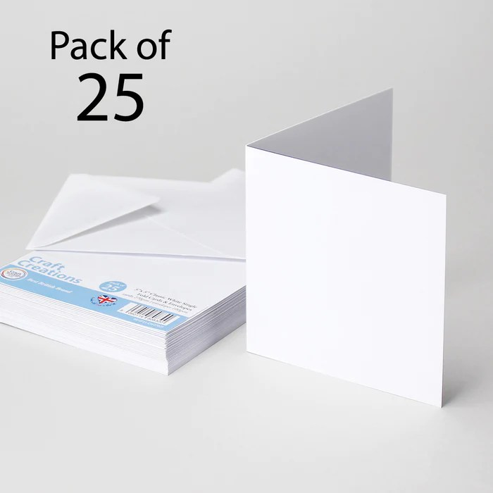 classic white 125x125mm 5x5