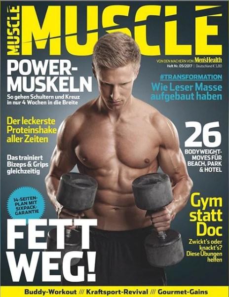 Muscle magazine Nico Airone
