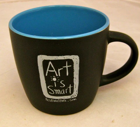 Art Is Smart Mug