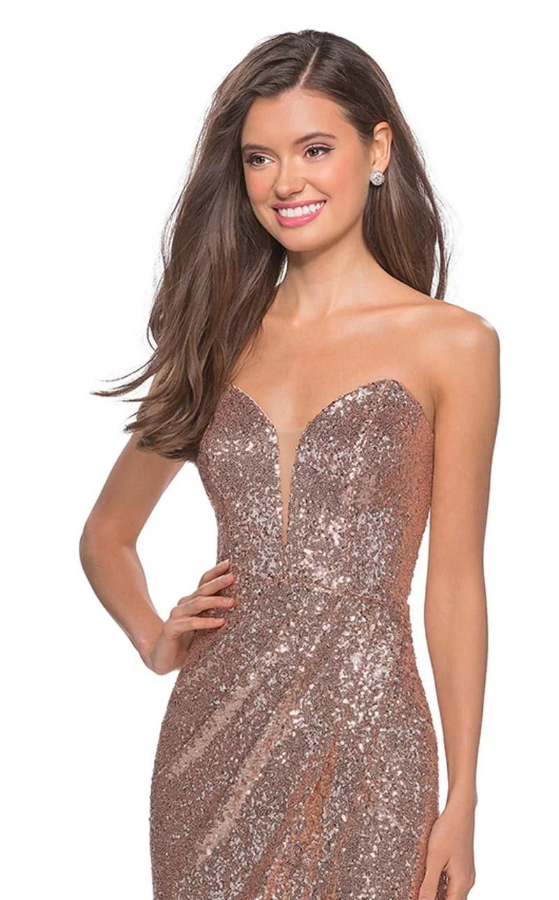 La Femme 28180cl Dress