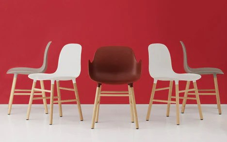 modern art chair covers and linens eastlake victorian parlor chairs form by normann copenhagen – the shop