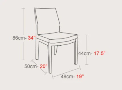 modern art chair covers and linens dining room sydney pasha wood by soho concept – the shop