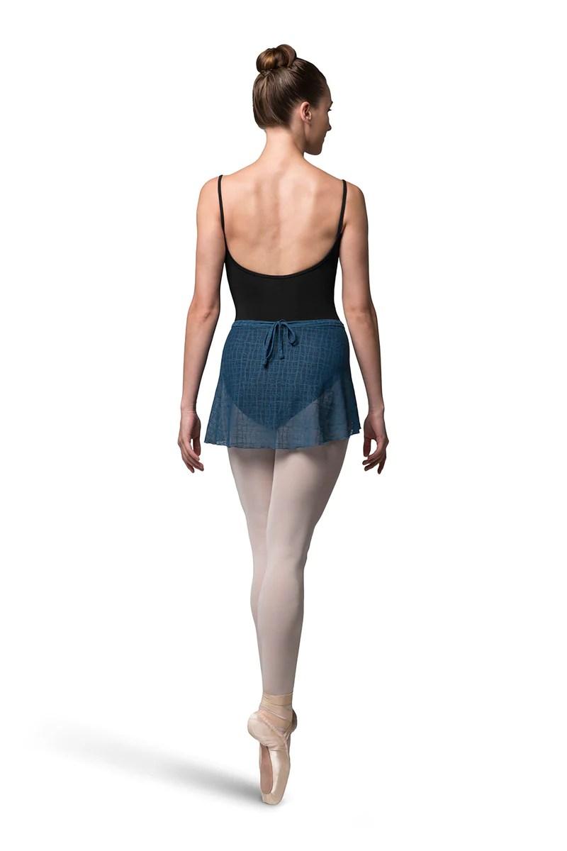 ladies ember delicate wrap skirt