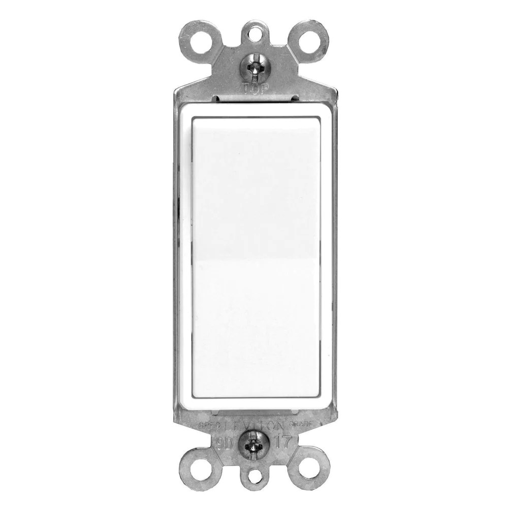 the decora rocker light switches from leviton are made from thermoplastic to ensure it s longevity  [ 1000 x 1000 Pixel ]