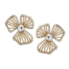 Dogwood Crystal Stud Elizabeth Bower Happily Ever Borrowed