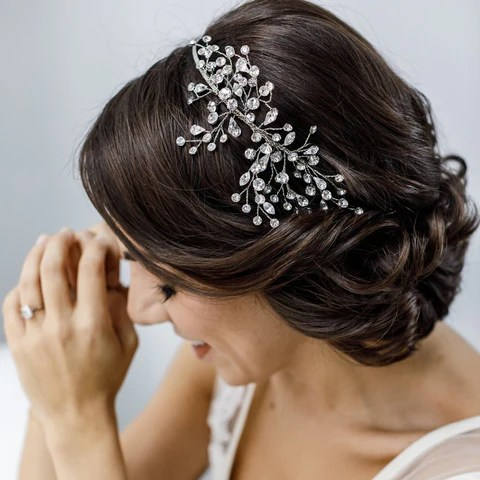 Neveah Headband, Brides & Hairpins, Happily Ever Borrowed