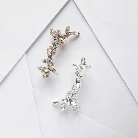 Maison Sabben, Happily Ever Borrowed, Bridal earrings