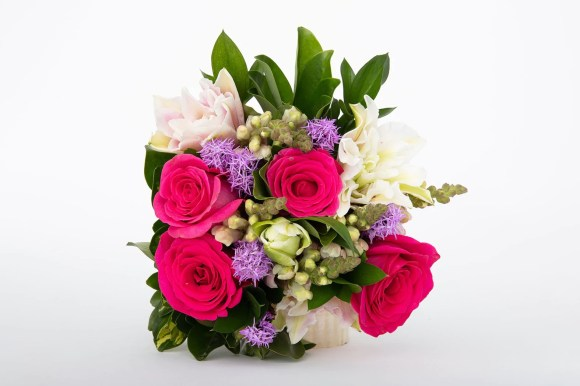Trendy flower arrangement