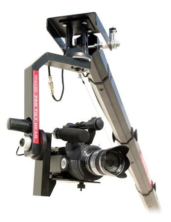 camera jib pan tilt