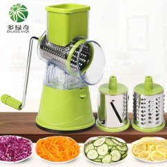 Kitchen Mandoline Cabinets Showroom Duolvqi Manual Vegetable Cutter Slicer Accessories Multifunctional Round Potato Cheese Gadgets Type Fruit Amp