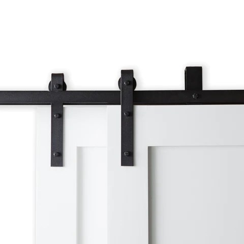Single/ Double Bypass Barn Door Hardware and Kit