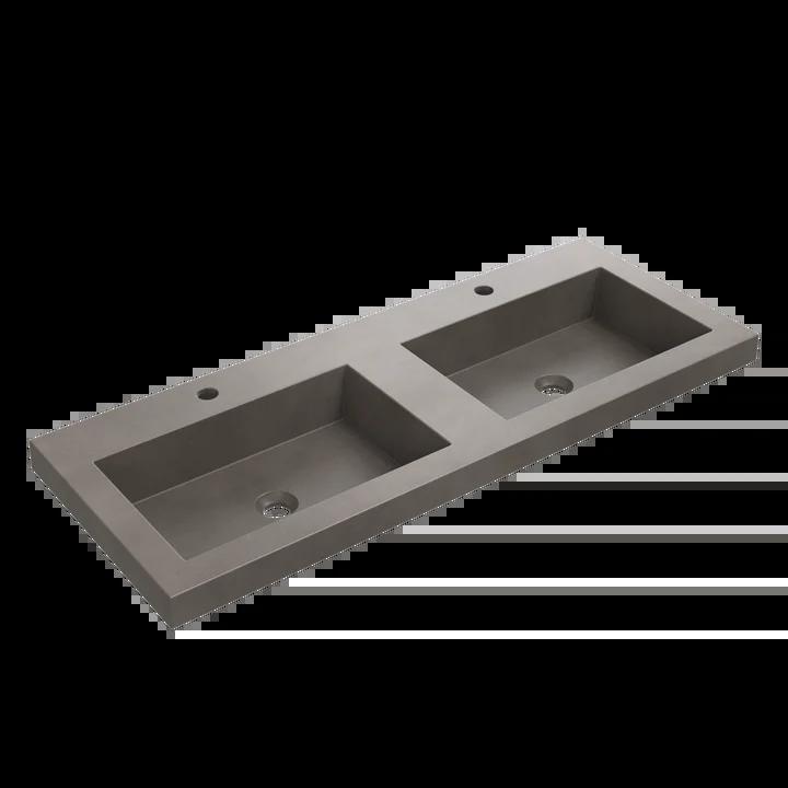 concrete bathroom sinks and tubs bodelair