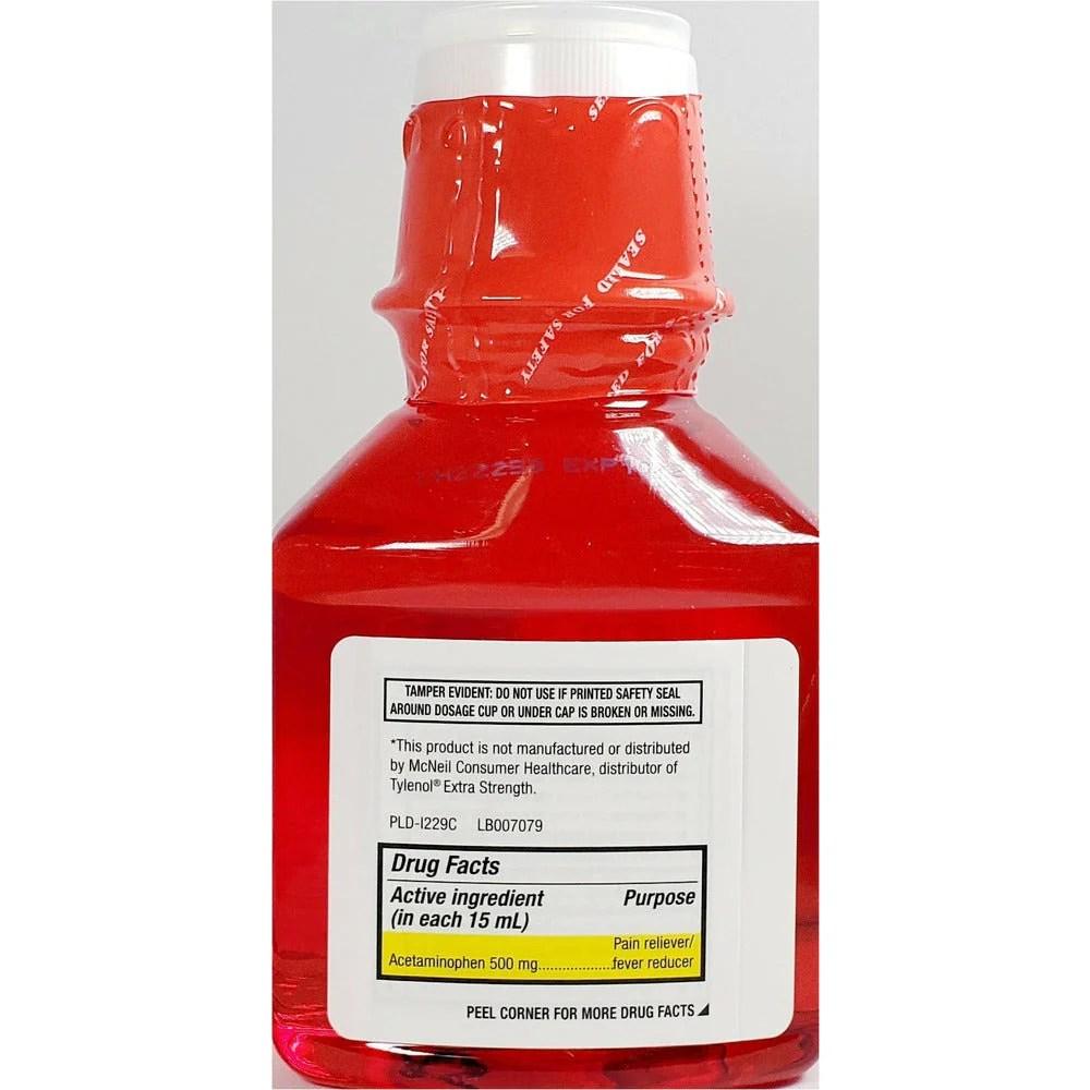 Major Acetaminophen Liquid 500 mg (Compare to Tylenol) 8 fl oz Each (1 – Hargraves Online Healthcare