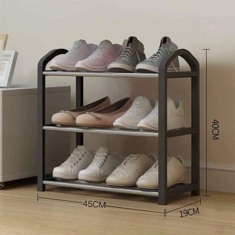 binder noir petit meuble a chaussure design