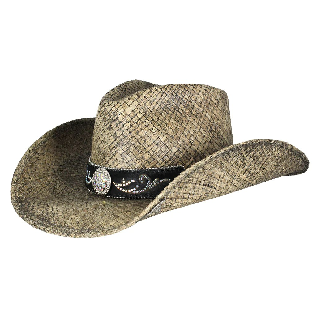 Bullhide Hats Tennessee River Straw Cowgirl Hat