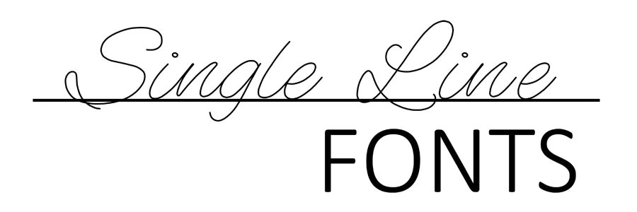 Download Single Line Fonts