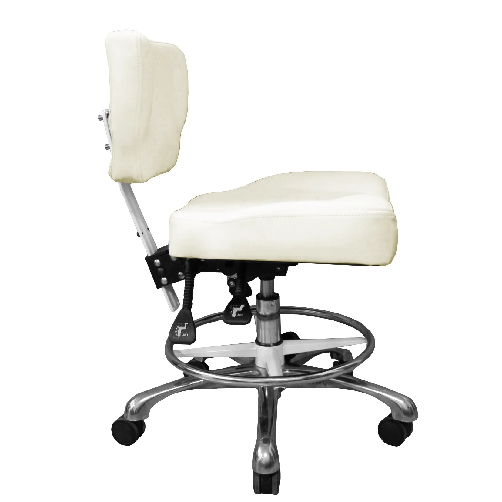 ergonomic esthetician chair safety first booster clinician comfortsoul