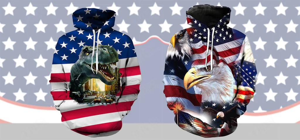 best american flag hoodie