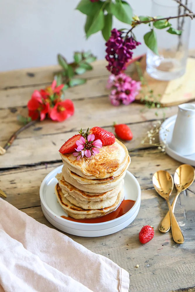 pancakes vegan fluffly