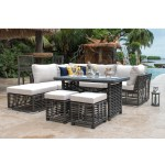 Outdoor Patio Furniture Durable All Weather Dining Seating Panama Jack