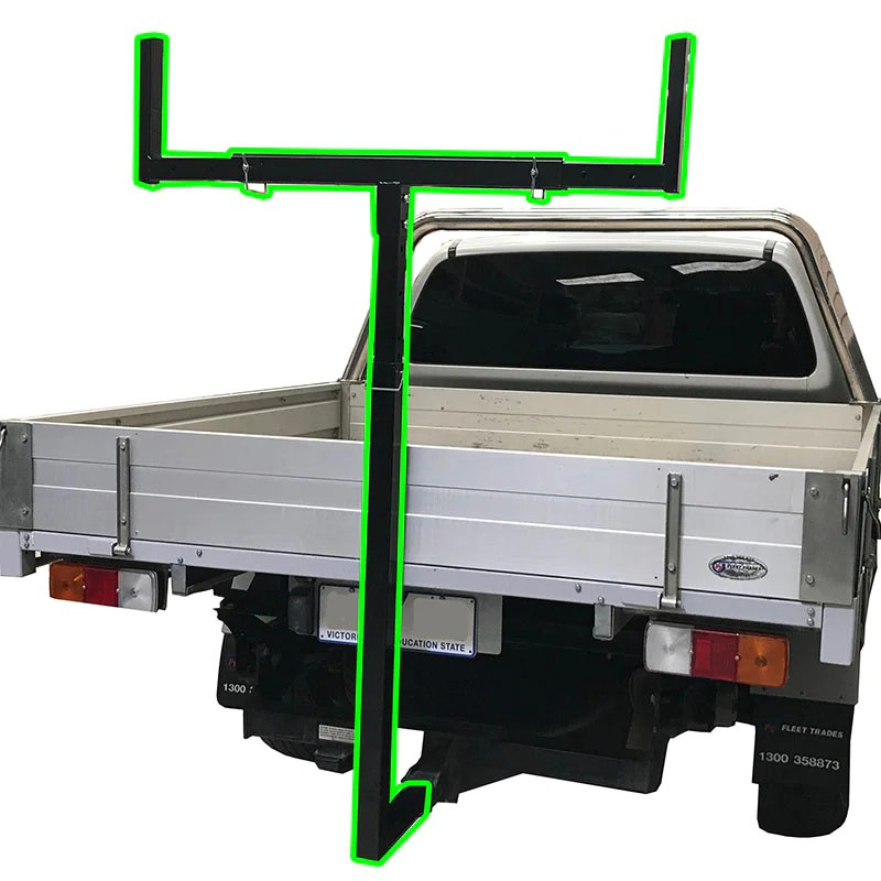 universal hitch mount ladder roof rack extension