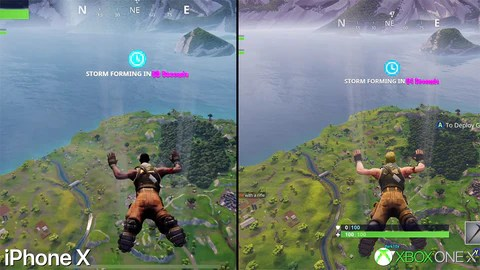 Fortnite graphics on mobile