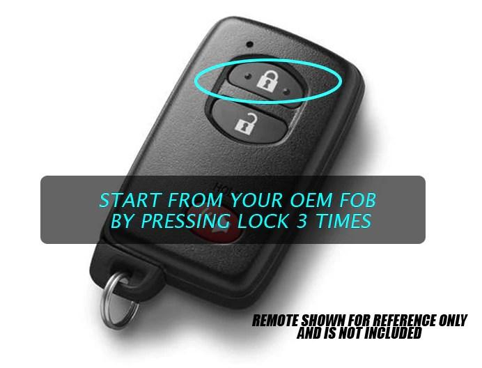 Mazda 3 Remote Starter Key