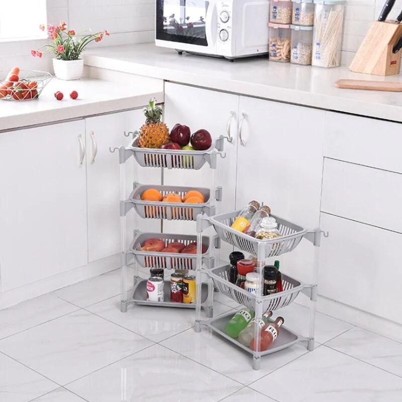 kitchen organizer pp storage rack shelf