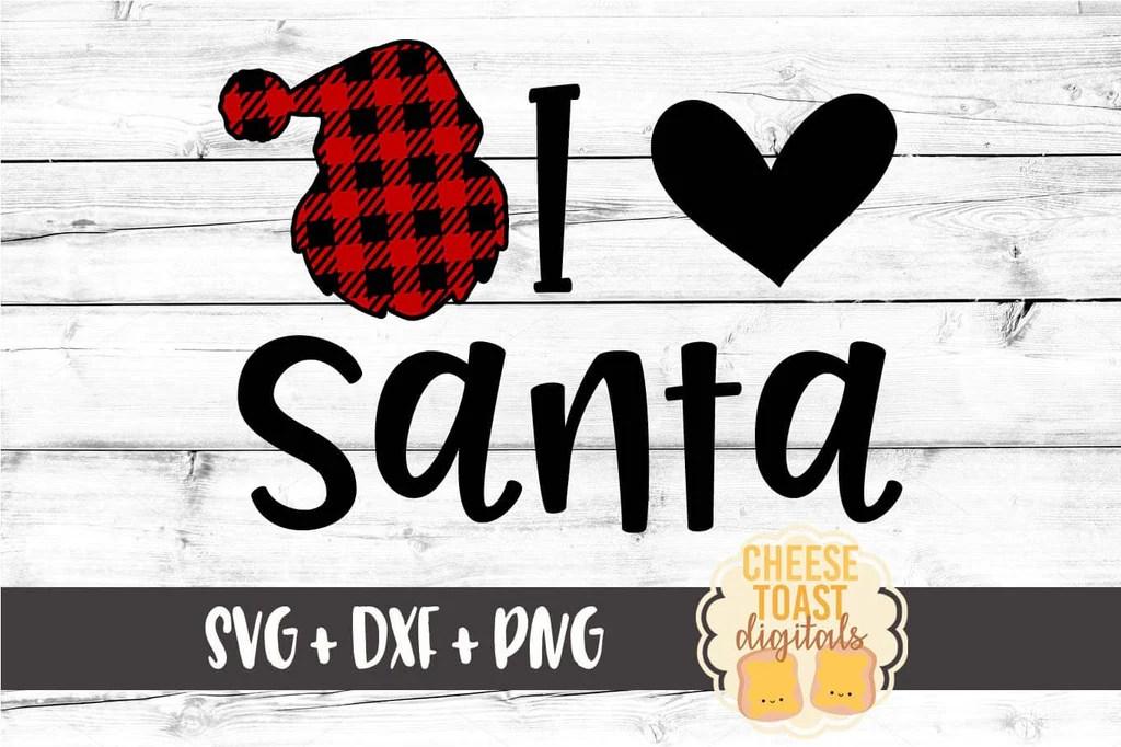 Download I Love Santa SVG - Free and Premium SVG Files - Cheese ...