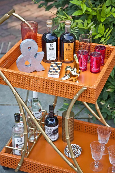 Tipple Trolley Bar Cart
