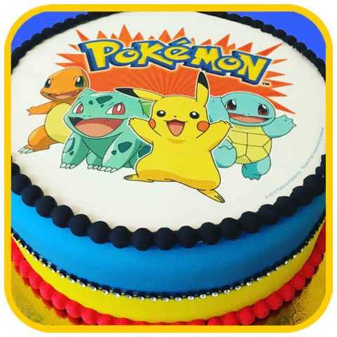 Pokemon Cake Online Delivery – The Office Cake