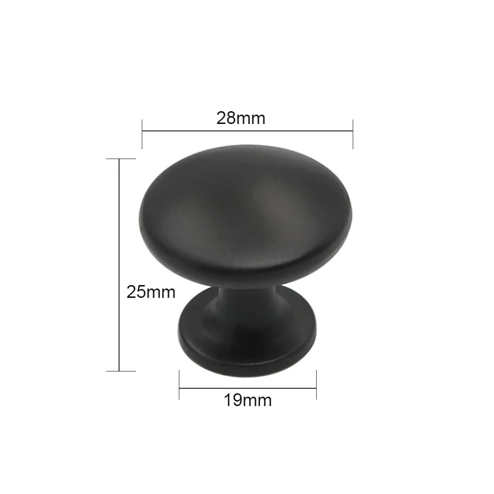 black round kitchen cabinet pulls and knobs10 pack ...