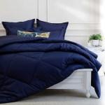 Navy Blue Comforter The Navy Blue Comforter Crane Canopy