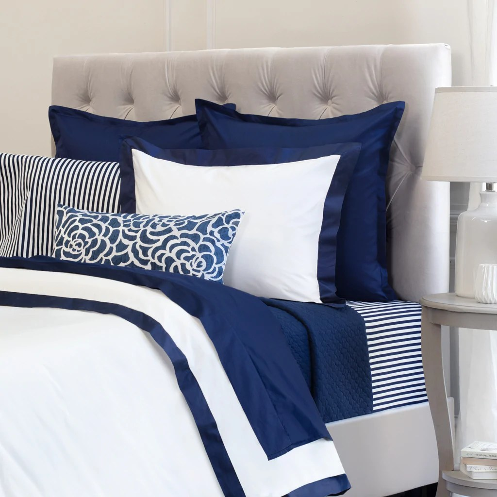 White And Navy Blue Duvet Cover Navy Blue Linden Crane Canopy