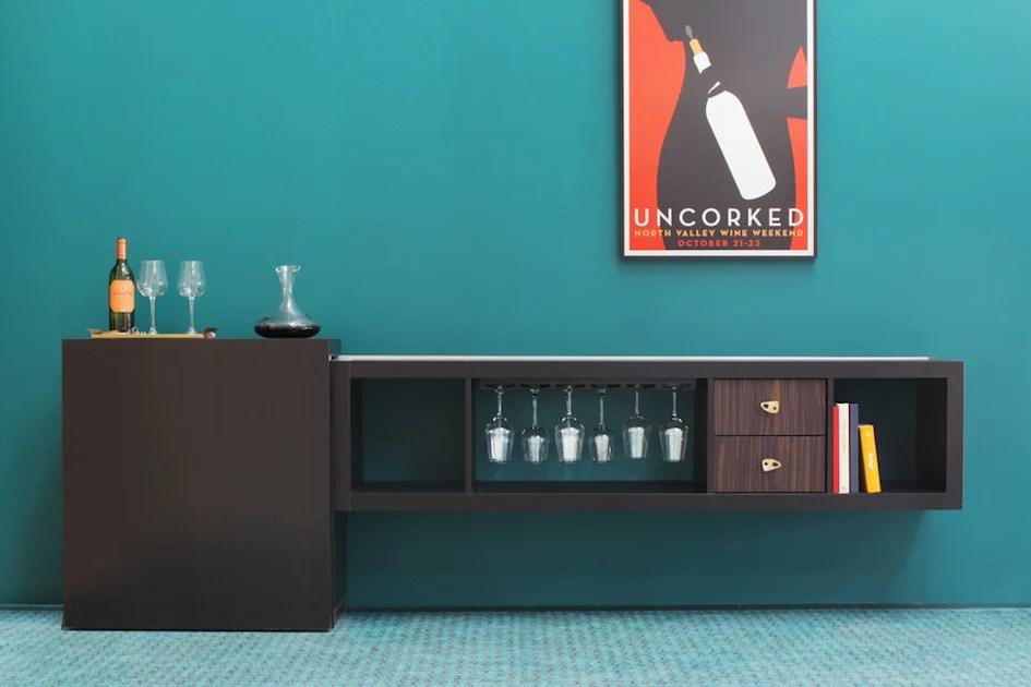 PANYLs Very Own IKEA EXPEDIT Wine Bar