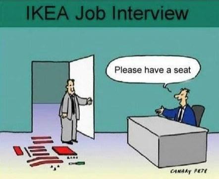 Ikea Job Interview Panyl