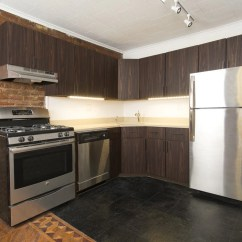 Inexpensive Kitchen Remodel Wall Units Traditional To Modern: New Cabinet Doors + Panyl