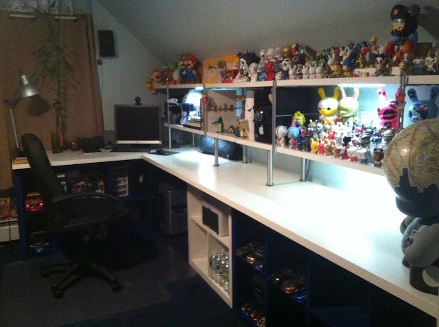 living room toy storage furniture decor themes voltron style hack uses expedit, three other ikea pieces ...