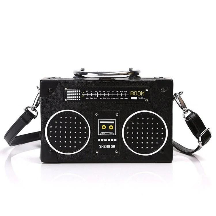 retro boom box radio