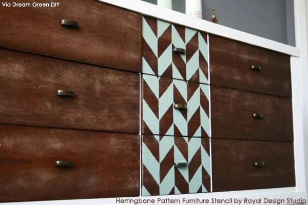 Pallet Chevron Wall Art Wall Panel Pallet Furniture Diy Ifmore