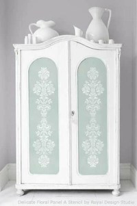 Stencil Pattern Ideas for Dressers and Drawers | Royal ...