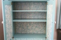 Inspiring Stenciled Furniture, Bookcase and Cabinet Ideas ...