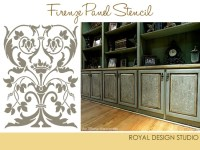 Stencil Project Ideas for Stenciling Kitchen Cabinets and ...