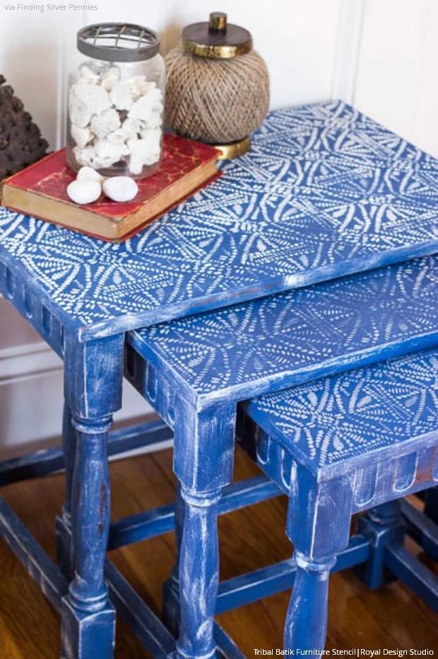 5 Chalk Paint  Furniture Stencils Ideas for DIY Decor  Royal Design Studio Stencils