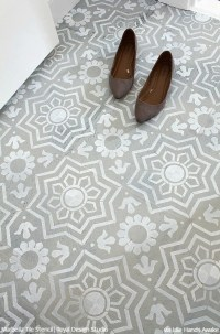 Tile Stencils for Walls, Floors, and DIY Kitchen Decor ...