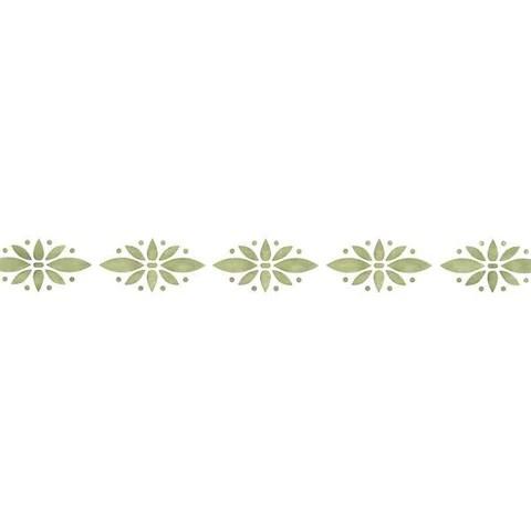 Border Stencils Simple Floral Wall Stencil Royal Design Studio Stencils